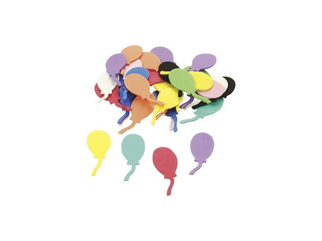 vyrezy penovka balonky narozeniny