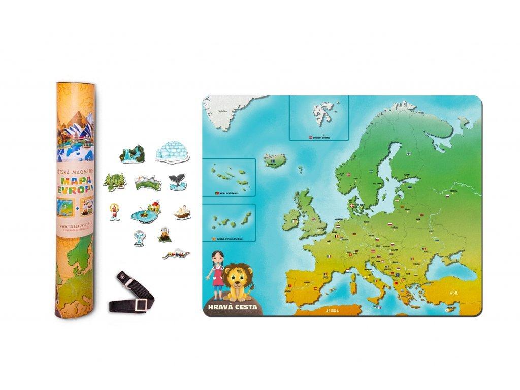 60 produktova fotka maketa mapa evropy tubus a n magnety