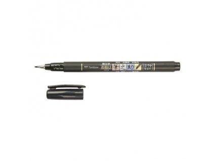 fixy tombow fudenosuke brush pen