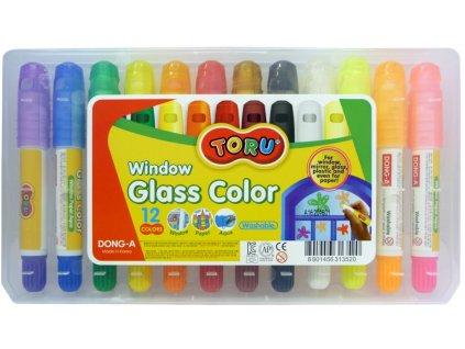 barvy na sklo tuhe