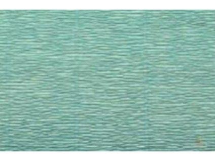 krepovy papir azurovy