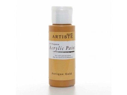 artiste akrylova barva anticka