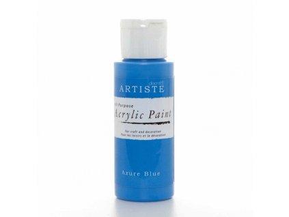 artiste akrylova barva azurova modra