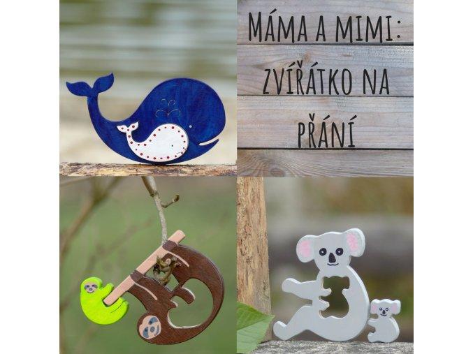 Máma a mimi - zvíře na přání