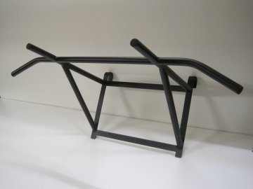 Hrazda na žebřiny ocelové