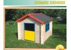 Dětské domečky dřevěné
