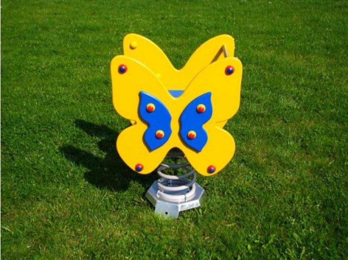 Monkey´s pružinová houpačka motýl .