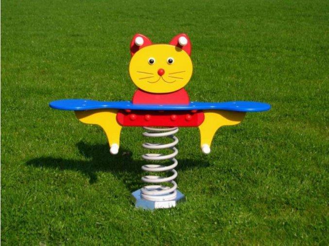 Monkey´s pružinová houpačka kočka - dvousedadlová .