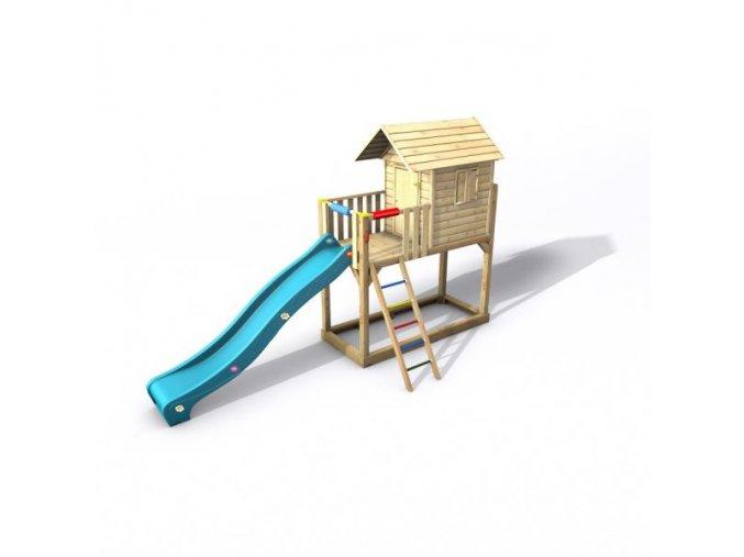 DĚTSKÝ DOMEČEK Monkey´s Home David 145 (108cm x 243cm x 310cm)