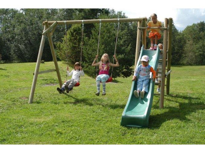 Dětské hřiště s houpačkou Imprest HENRY 2 344x230x230cm