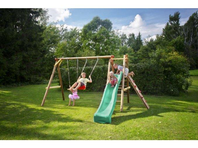 Dětské hřiště s houpačkou Imprest BOSSE 452x200x225cm