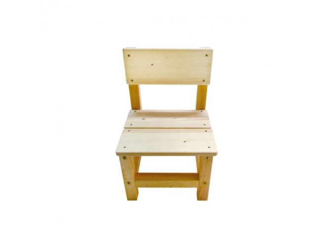 Dětská dřevěná židlička .