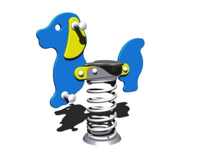 Monkey´s pružinová houpačka pes Bony .