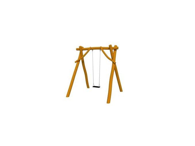 Houpačka Swing  z akátu - pro jedno dítě