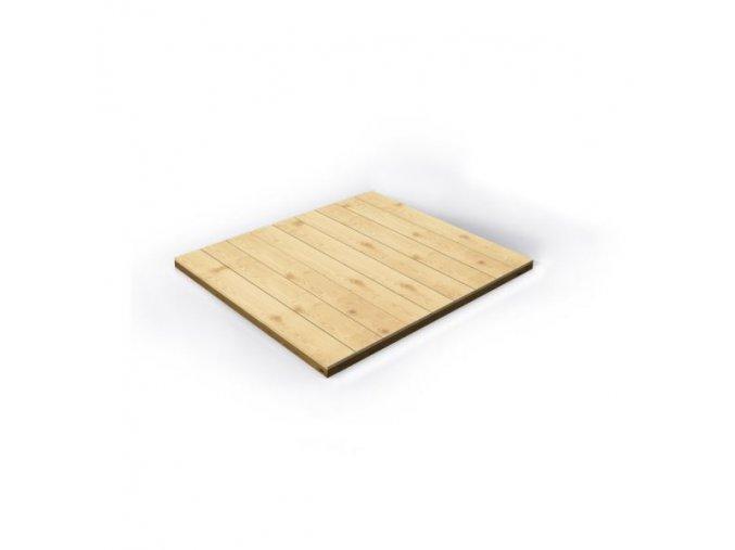 PODLAHA dřevěná k domečku Chaloupka Mini .