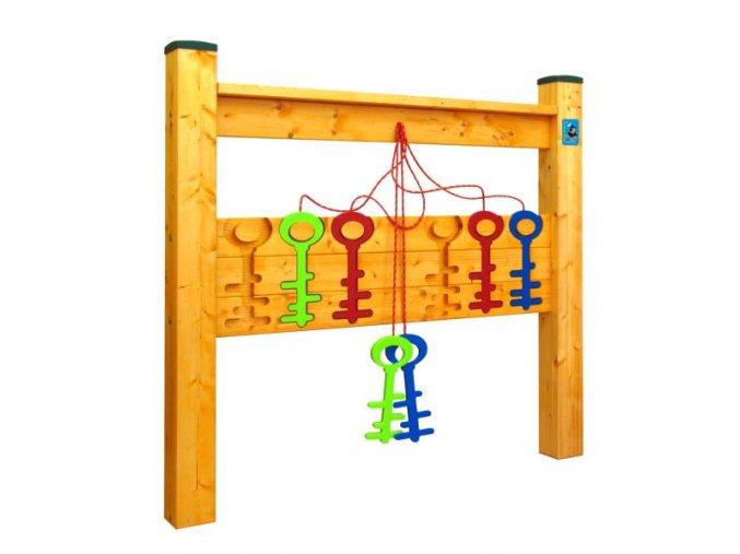 Hra na zahradu - Barevné Klíče .