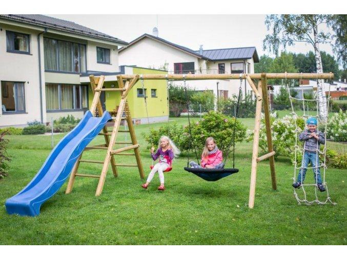 Dětské hřiště s houpačkou Imprest KALEV 470x200x230cm