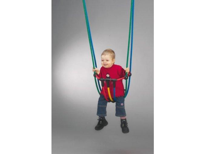 Dětský sedák lanový .