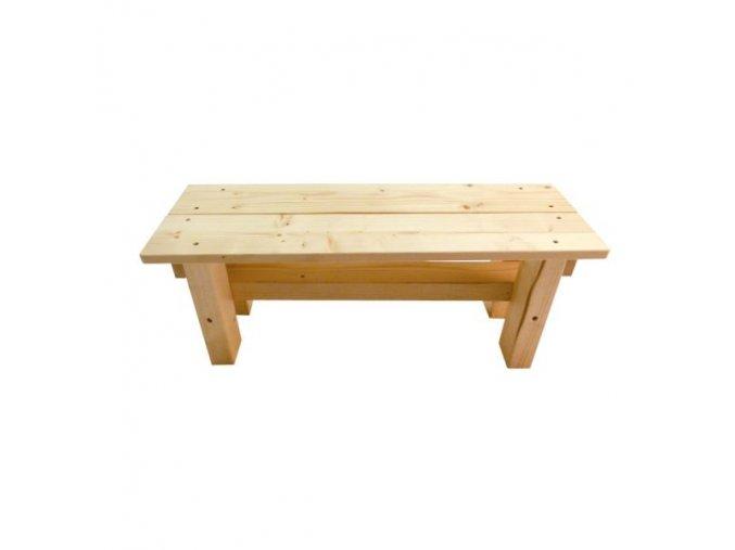 Dětská dřevěná lavice .