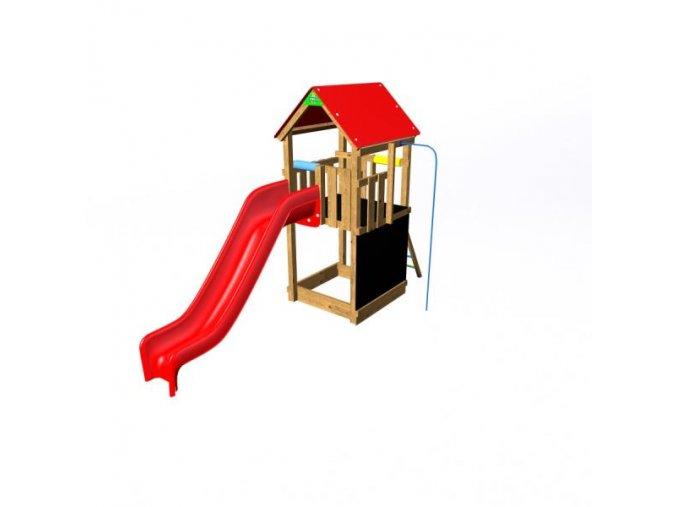 Flexi věž se střechou - 150 T Premium .