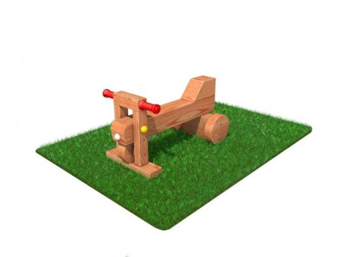 Hravá lavička - Monkey's Motorka Malá .