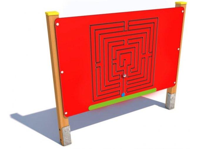 Interaktivní panel - Monkey's Labyrint