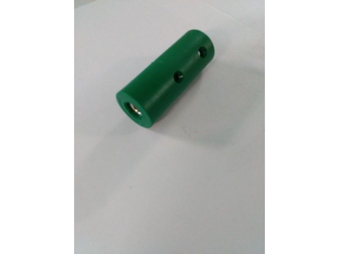 Ukončení sítě pro závitovou tyč M10 - zelené .