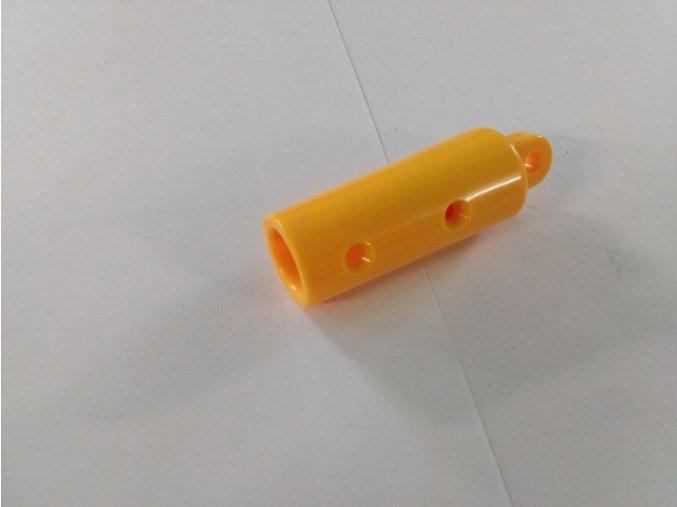 Ukončení šplhací sítě s okem žlutý .