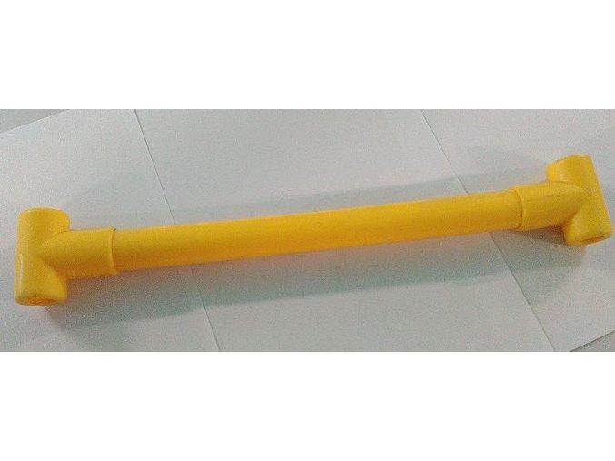 Příčka k lanovému žebříku - žlutá .