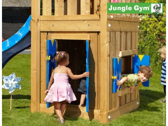 PŘÍSTAVEK K HRACÍ SESTAVĚ Jungle Gym Playhouse pro hřiště House, Hut, Home, Casa .