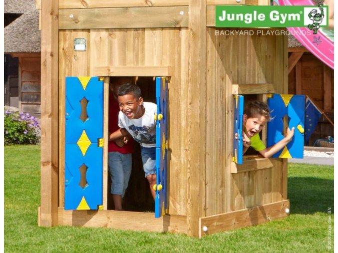 PŘÍSTAVEK K HRACÍ SESTAVĚ Jungle Gym Playhouse pro hřiště Barn .