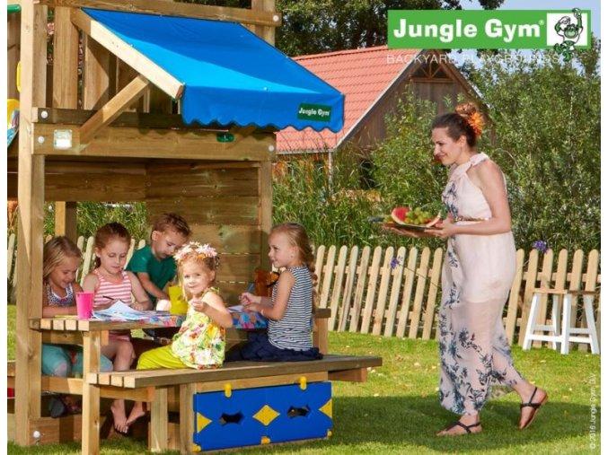 PŘÍSTAVEK K HŘIŠTI Jungle Gym Mini Piknik 160cm .
