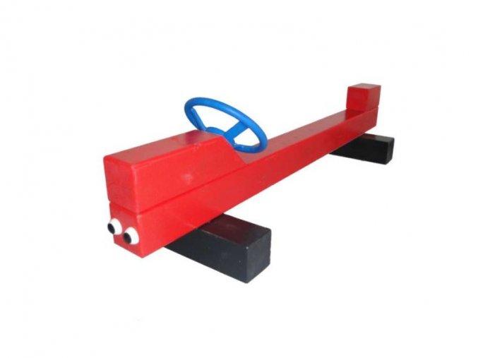 Hravé lavičky - Monkey's Auto velké barvené .