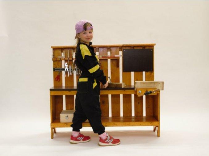 Dětský dřevěný stolek ponk Martin