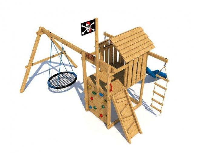 Dětské hřiště Monkey´s Home Malý pirát JIM .