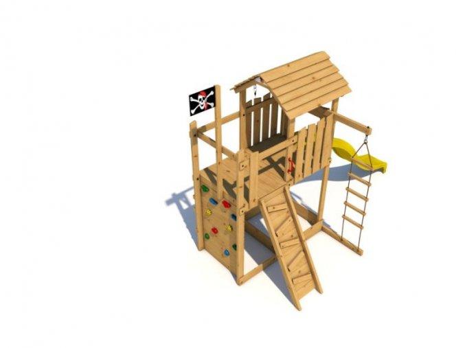 Dětské hřiště Monkey´s Home Velký pirát JACK .