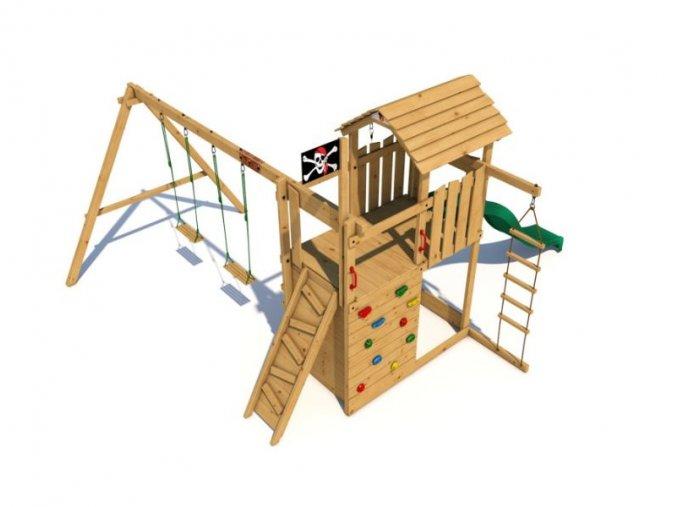 Dětské hřiště Monkey´s Home Velký pirát BILL .