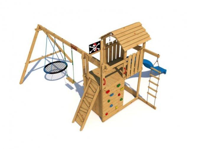 Dětské hřiště Monkey´s Home Velký pirát WILLIAM .
