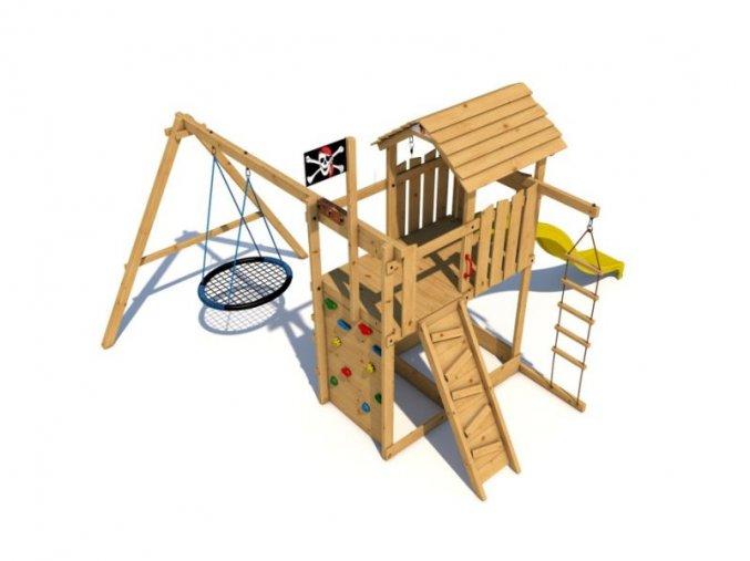 Dětské hřiště Monkey´s Home Velký pirát NICK .