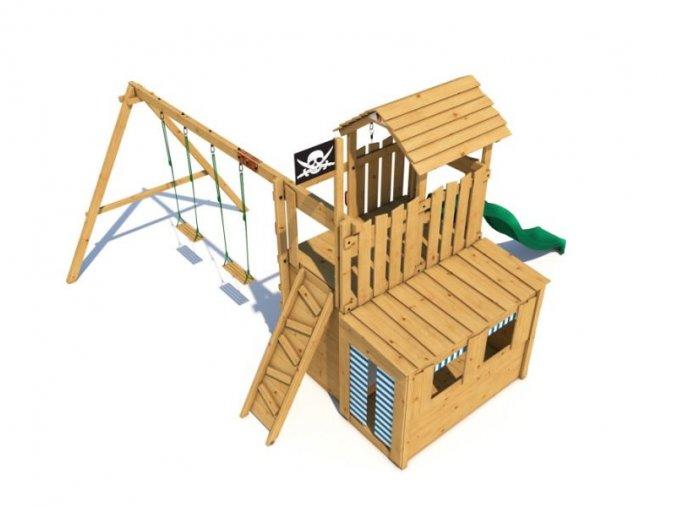 Dětské hřiště Monkey´s Home Velký pirát JOLLY .