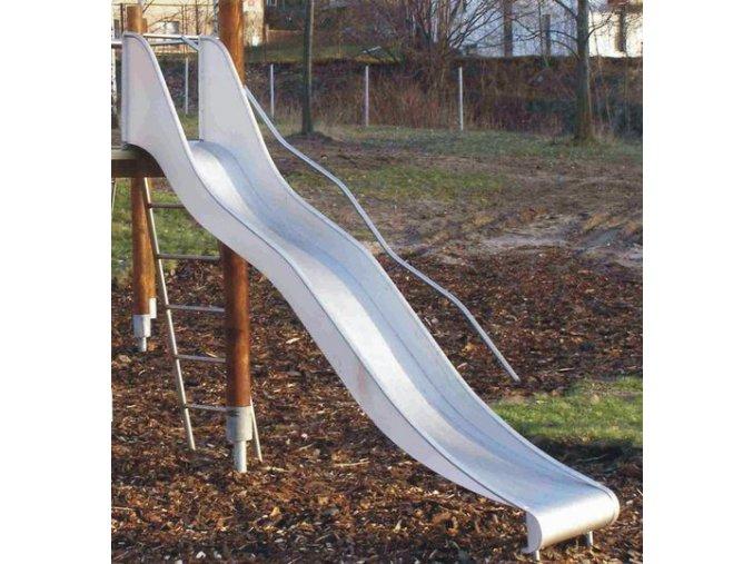 SKLUZAVKA Monkey´s nerez. pro výšku konstrukce 1,5 m (šíře 50 cm)