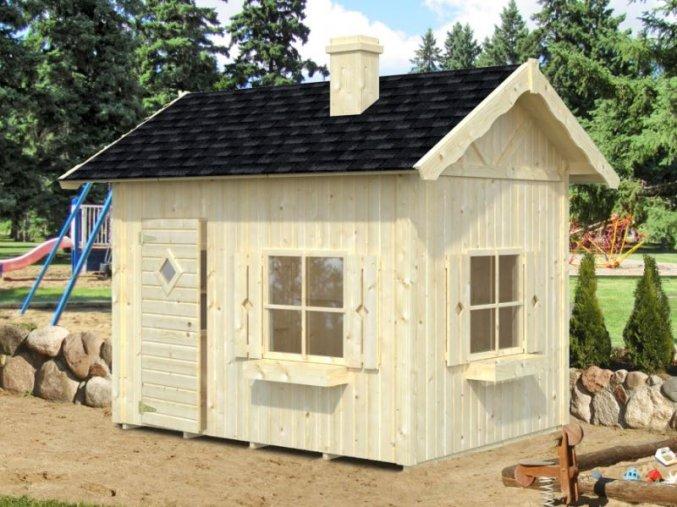 Dětský domek GRETE (233 x 175 cm) tl. 16mm