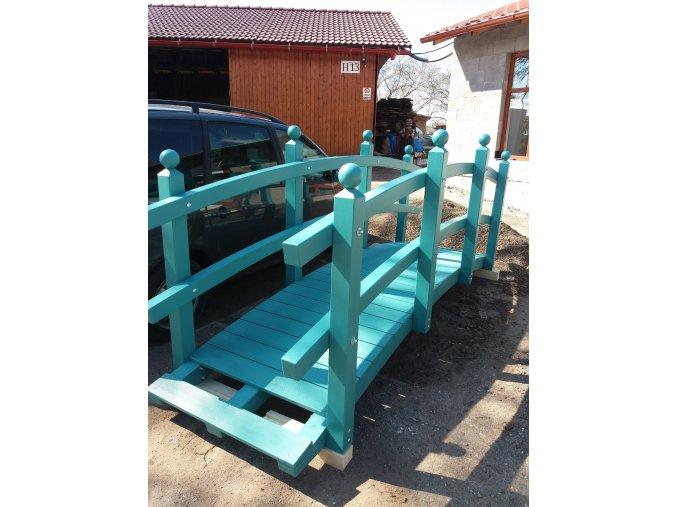zahradní dřevěný most 4m