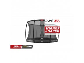berg elite inground 430 grey safety net dlx xl
