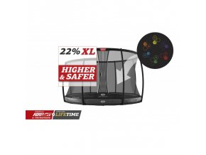 berg elite inground 430 grey levels safety net dlx xl