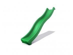skluzavka zelená 2,65m