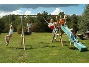 Dětské hřiště s houpačkou Imprest HENRY 1 430x230x230cm
