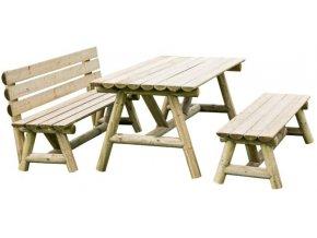 Velký zahradní stůl Imprest 180x85x76cm