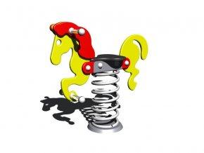 Pružinová houpačka Monkey's -  Koník Bony .