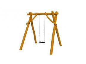 Houpačka Swing  z akátu - pro jedno dítě .
